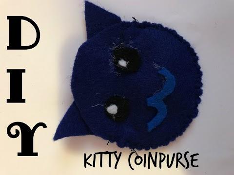 DIY How to Make a Kawaii Cat Change Purse!