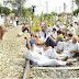 भारत बंद : मोदी सरकारचा तीव्र निषेध, रेल्वेही रोखल्या!