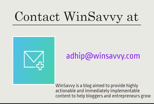 Contact WinSavvy