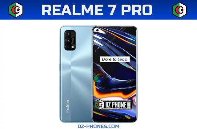 سعر ريلمي 7 برو في الجزائر و مواصفاته  Realme 7 Pro Prix Algerie