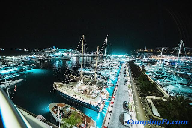 Monaco Harbour F1