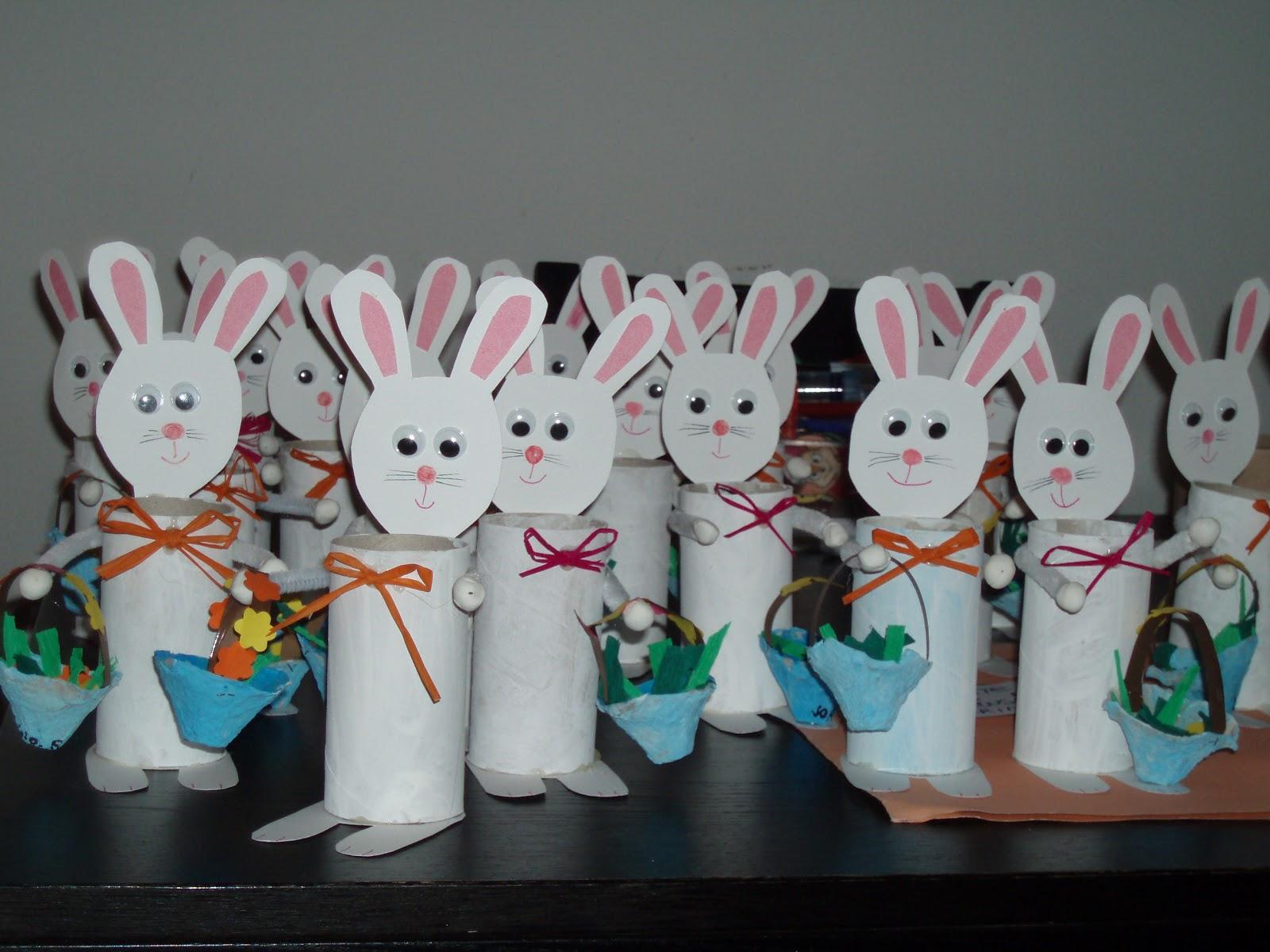 Fata piumetta coniglietti porta uova di cioccolato