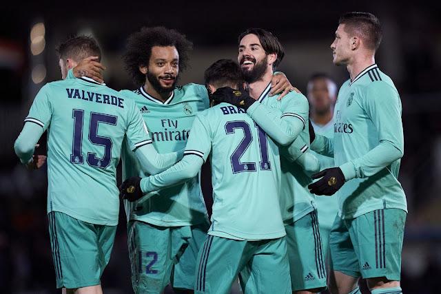 Video Cuplikan Gol: Unionistas de Salamanca 1-3 Real Madrid (Copa del Rey)