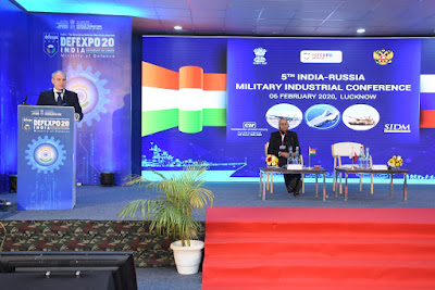 5th Round of India-Russia Military Industrial Conference held in Lucknow, 14 MoUs signed