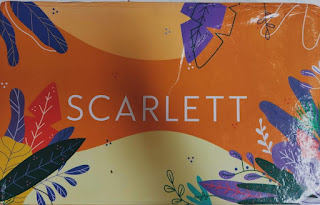 scarlett whitening body care reusable box