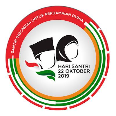 Logo Hari Santri Nasional Tahun 2019