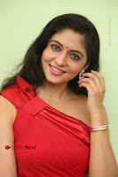 Actress Zahida Sam Latest Stills in Red Long Dress at Badragiri Movie Opening .COM 0093.JPG