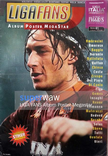 Liga Fans Album Poster Megastar