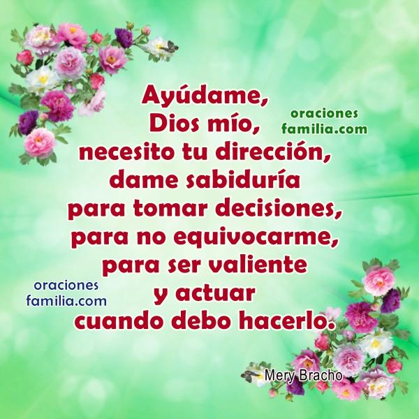 Frases de Oración por la Mañana, la Tarde o la Noche. Imágenes cristianas para facebook con oraciones por Mery Bracho.
