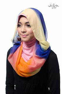Model Hijab Casual 2 Warna