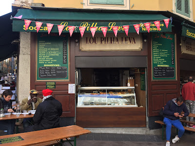 Lou Pilha Leva (Old Nice eatery offering the best tasting socca according to Wikitravel)