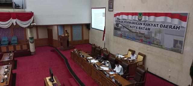 Amsakar : Program Pembangunan Pemko Batam Memprioritaskan Penanganan Pandemi Covid-19 dan Pemulihan Ekonomi