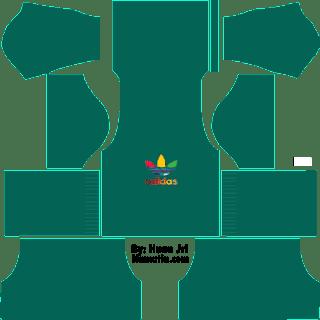 Baju DLS Adidas Warna Hijau