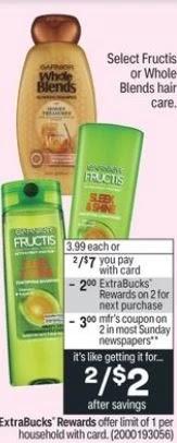 FREE Garnier Whole Blends CVS Deal 5/2-5/8