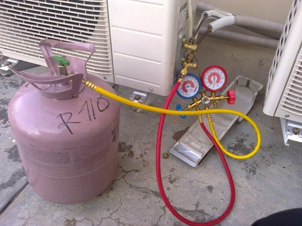 cara pengisian refrigerant ac split lengkap