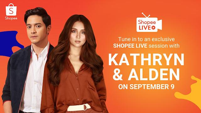 Shopee reunites top stars Kathryn Bernardo and Alden Richards to celebrate 9.9 Super Shopping Day!