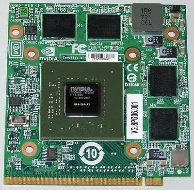 Nvidia GeForce 8600M GT(ノートブック)フルドライバーをダウンロード