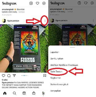 Cara Copy Paste Caption Orang di Instagram