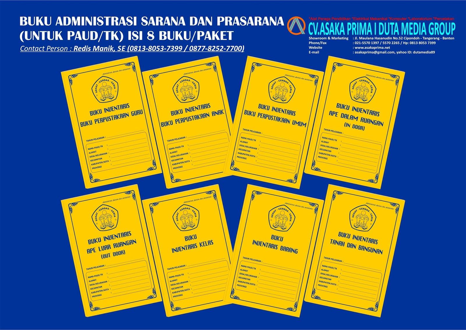 Buku Administrasi Jenjang Paud Tahun Pelajaran 2018 Buku Bop Paud 2018 Sarana Kerja Ppkbd