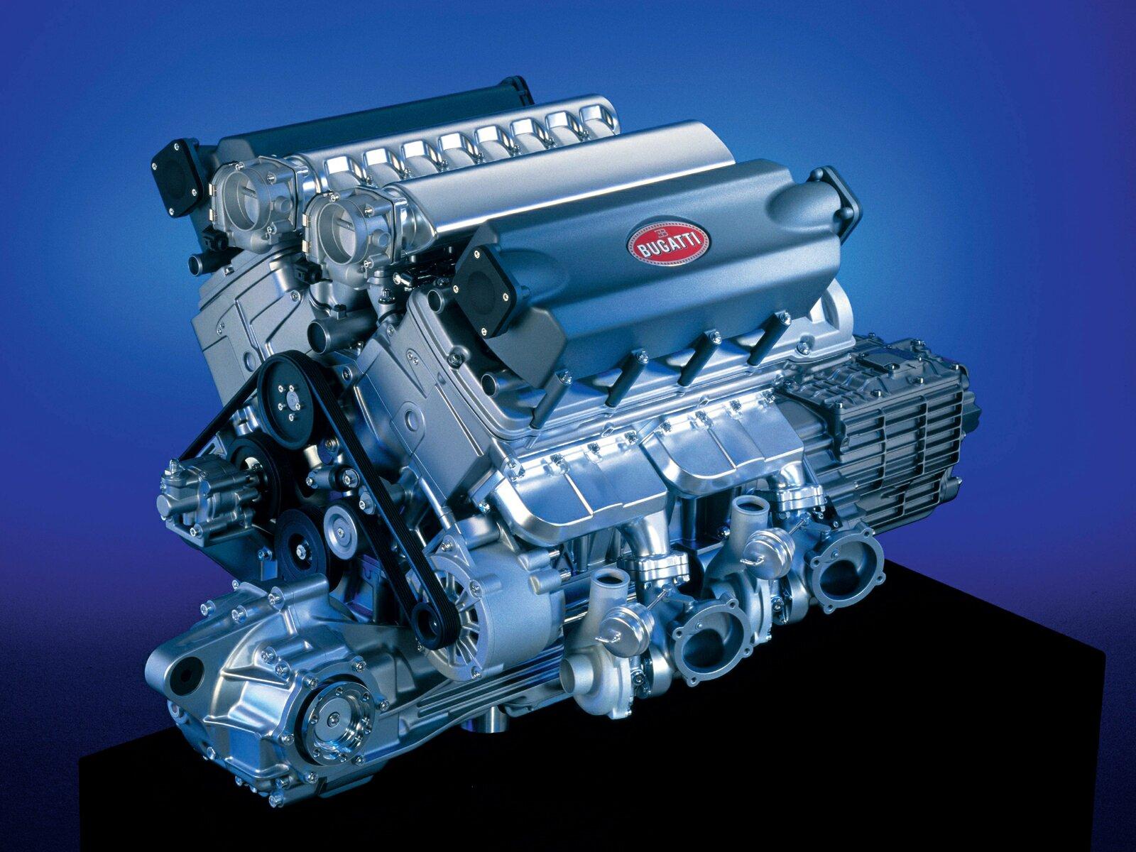 Bugatti engine specs