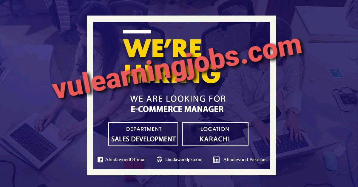 Abudawood Jobs In Pakistan May 2021 Latest | Apply Now