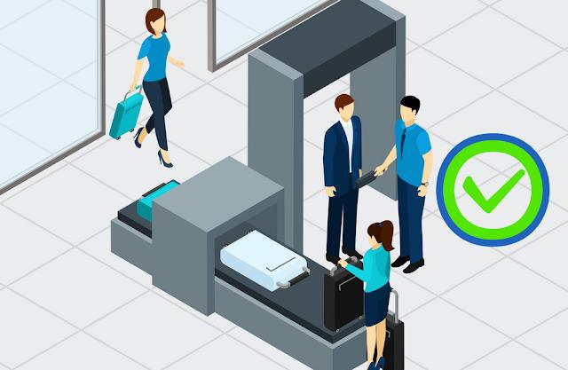 Cara Melewati Pengecekan Keamanan tanpa mengelabui metal detector Bandara
