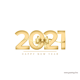 2021 Best greetings happy new year