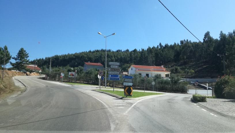 Direcções praia Lago Azul