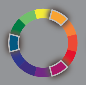 Example Of A Triadic Color Structure