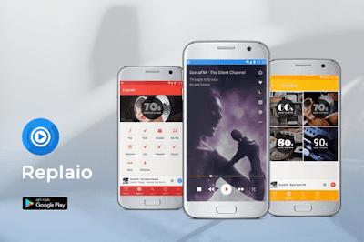 راديو الإنترنت وراديو FM, تطبيق Replaio للأندرويد, راديو بدون انترنت, تنزيل راديو اف ام بدون نت