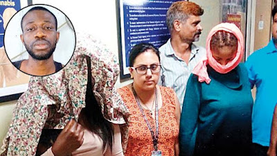 Photos: Nigerian man, two South African women and a Zambia woman arrested at India Airport for drug trafficking