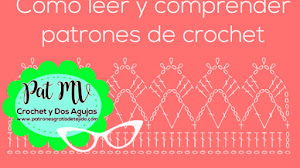 Aprende a Leer los Patrones Gráficos / Crochet desde el inicio / Clase # 8