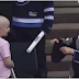 Little Boy Sees Sick Girl On The Jumbotron, Melts Everyone's Heart When He Hands Her His Autographed Stick