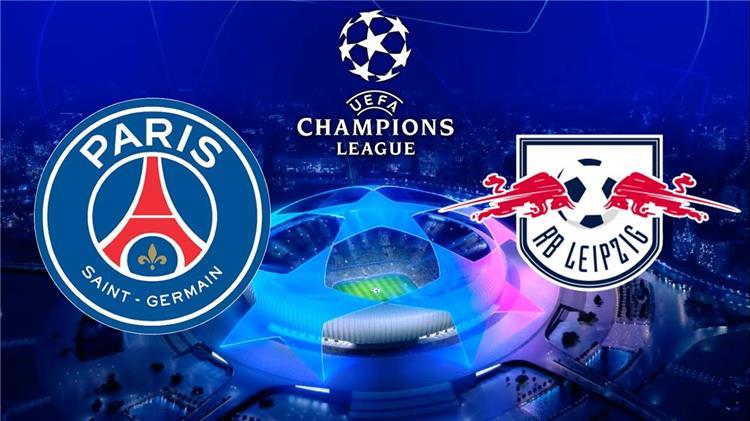 بث مباشر مباراة باريس سان جيرمان ولايبزيج