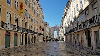 Lisbona in tempi di covid