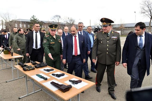 Armenia recibe aviones de combate Su-30 SM