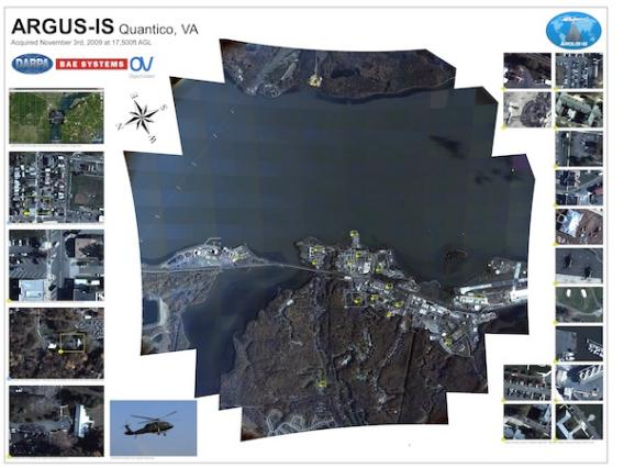 Image Attribute: The ARGUS-IS mission poster / Source: DARPA