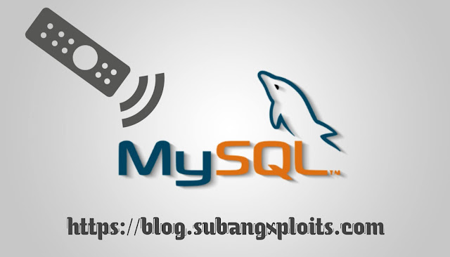 Remote MySQL Jarak Jauh