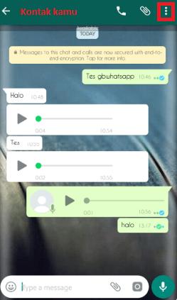 Cara Mengunci Obrolan Whatsapp