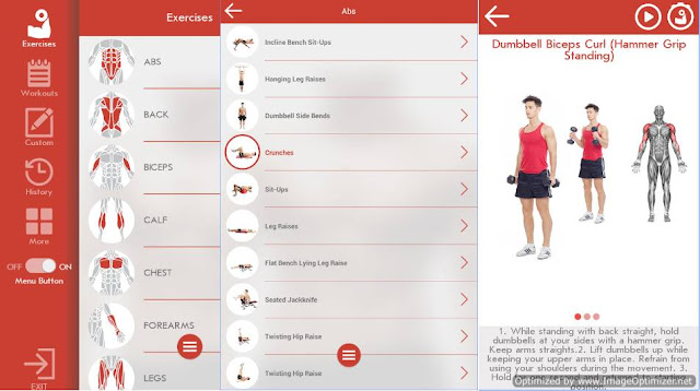 Best Android App for Fitness ad Bodybuilding for Men