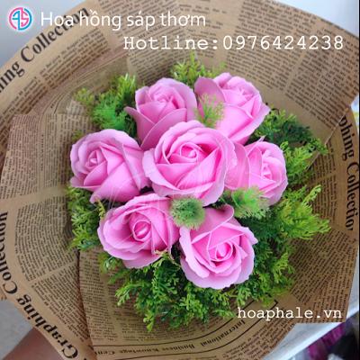 Hoa hong sap thom vinh cuu o Ngoc Ha