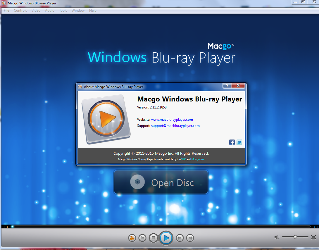 Best Blu-ray Player software for Windows 10/8/7 - Macgo Software