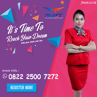 Pendaftaran Sekolah Pramugari Indonesia