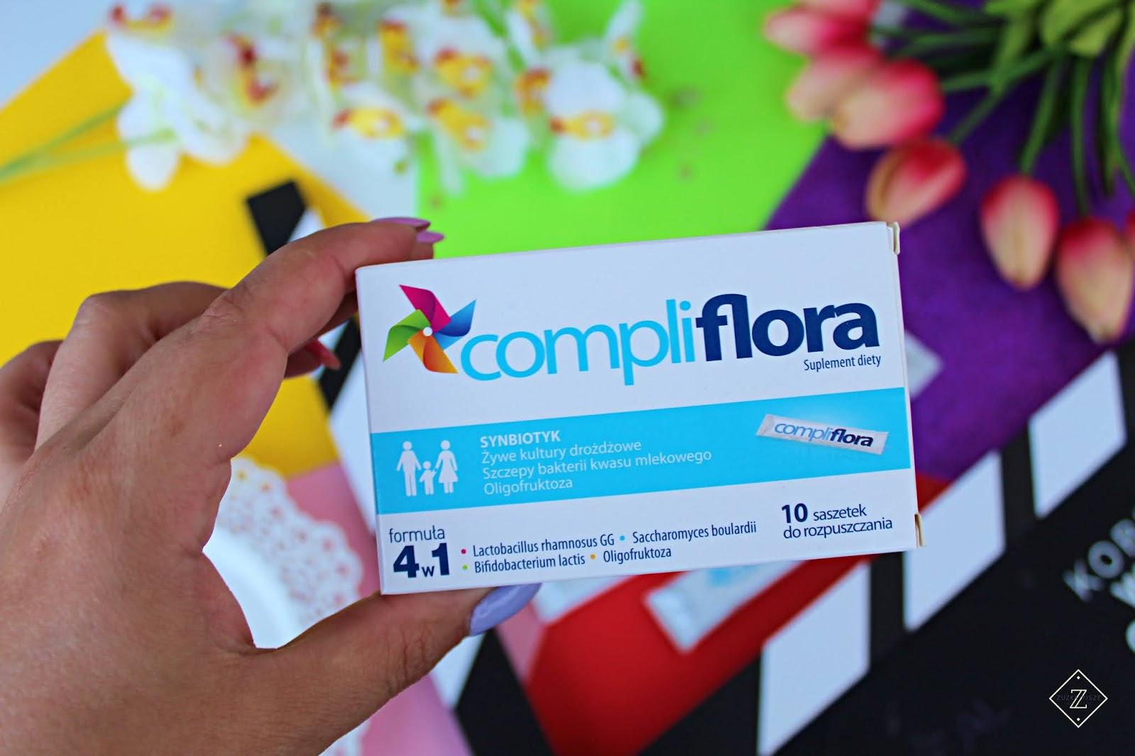 compliflora 10 saszetek synbiotyk
