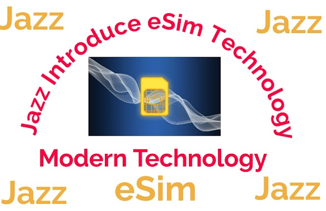Jazz introduce eSim Technology || what is eSim ? how it use