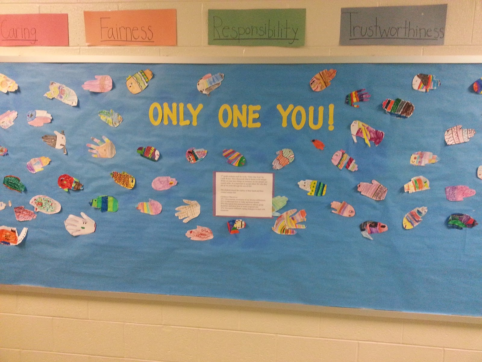 School Counseling Ideas Only One You 2nd Grade Guidance Lesson