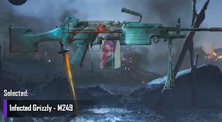 m249 skins pubg