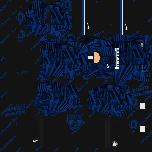 Inter Milan Kits 2021-2022 Nike - kit dream league soccer 2021 (home)
