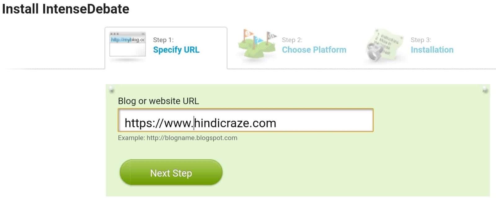 Blogspot blog WordPress Comment Box