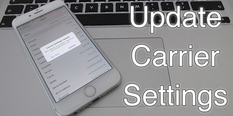 how to update carrier settings iphone how to manually update carrier settings on iphone 19248